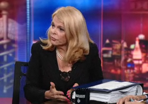 Betsy McCaughey on The Daily Show