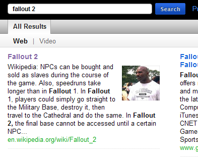 cuil search for fallout 2
