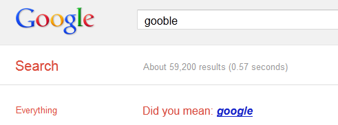 did you mean google?