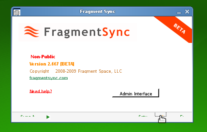 fragment sync running on mono in opensuse