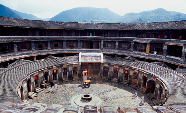 hakka house courtyard