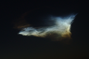 pheonix rocket clouds