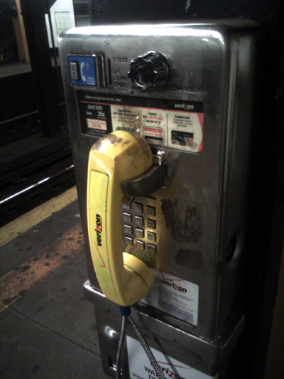 Subway Payphone