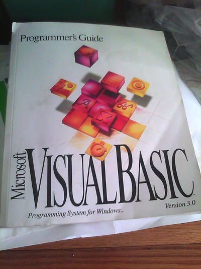 visual basic 3.0 programmer's guide